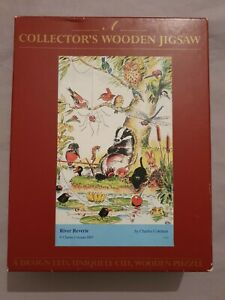 Collector's WENTWORTH WOODEN Jigsaw 30pcs River Reverie 2005 Charles COLEMAN.
