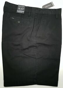 New Authentic Nautica Men's Classic Fit Cotton Twill Deck Short CLEARANCE