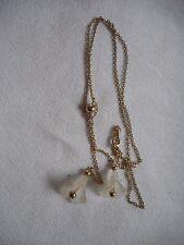 "Vintage art glass AVON necklace,18"""