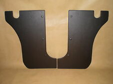 Datsun 1600, P510, coupe, sedan, wagon, black vinyl kick trims. NEW!