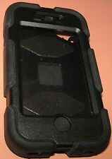 Griffin Survivor iPhone 4/4s, Black with screen protector, Blem discount read