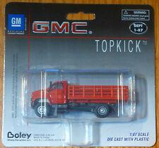 Boley HO #185-300711 2003 GMC Topkick 2-Axle w/Open Stakebed Body  -red