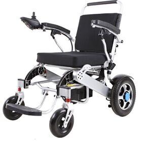 carrozzina elettrica per disabili pieghevole