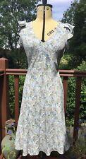 Vintage 40s/50s Style Dress Rocha John Rocha Debenhams Size 8