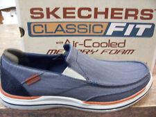 Cobertizo Litoral artería  Las mejores ofertas en Skechers Hombre Lona Zapatos Informales Talla 12 |  eBay