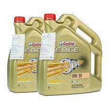10 (2x5) Liter CASTROL EDGE 0W-30 Opel GM dexos2 AUDI, VW