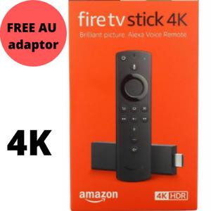 2019 Amazon Fire TV Stick 4K Ultra HD 3rd Gen Alexa Voice Remote Media Streamer