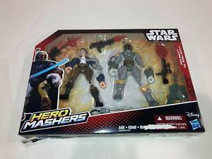 New Star Wars Hero Mashers Han Solo vs. Boba Fett Sealed