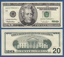 USA 20 Dollars 1996 AA  STAR  UNC  P. 501