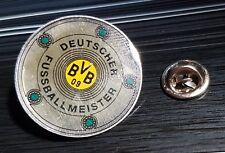 Borussia Dortmund BVB Pin Deutscher Fussballmeister Schale Original - Maße 31mm