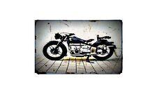 1949 Condor A580 Bike Motorcycle A4 Retro Metal Sign Aluminium