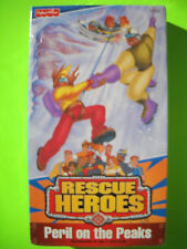 NEW! SEALED! RESCUE HEROES PERIL ON THE PEAKS Fisher-Price VHS 1999