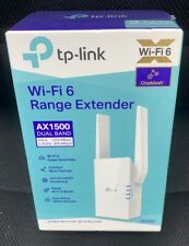 Ax1500 RE505X Dual Band Wifi Range Extender NEW SEALED & FAST SHIPPING