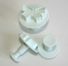 Butterfly Plunger Cutter Sugarcraft Set of 3 Small, Cake Decorating, Sugarcraft