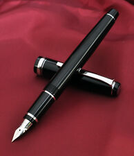 "PILOT NAMIKI FALCON ""ELABO"" FE-18SR STYLO PLUME FLEXIBLE 14K BLACK FOUNTAIN PEN"