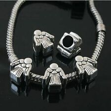 14pcs Tibetan Silver angel spacer Beads Fit European charm  Bracelet  L0095