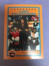 RARE Pat Summitt The Greatest UT Lady Vols Team Issued Card 1990-91 Season NCAA