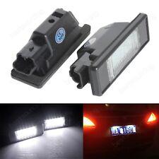 Feux LED De Plaque d'Immatriculation Peugeot 1007 207CC 308 308CC 508SW 607 RCZ