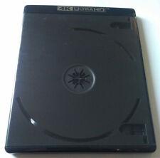 NEW! 10 PK Premium VIVA ELITE Double Discs 4K Ultra HD Black Blu-ray Case Holder