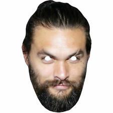 Jason Momoa Game Of Thrones Card Masks - Khal Drogo - All Masks Are Pre-Cut