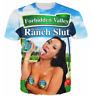 New 3D print Valley Ranch Slut  Mens/Womens Short Sleeve T-Shirt Casual Tops Tee