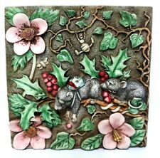 Harmony Kingdom Picturesque Two Blind Mice 3D Magnet Tile ~ Byrons Secret Garden