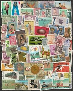 THAILAND LARGE COLLECTION OF STAMPS