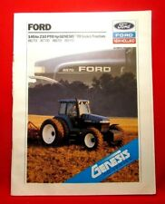 Ford 145 to 210 PTO Genesis 70 Tractors Sales Brochure, 8670,8770,8870,8970