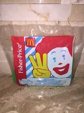 MCDONALDS FISHER PRICE BOOMBOX HAPPY MEAL TOY