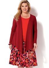 KWIK SEW SEWING PATTERN WOMEN'S JACKET TANK TOP & SKIRT SIZE 1X - 4X K4199