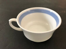 "Arabia of Finland China RIBBONS BLUE Band - 2-3/8"" H TEA CUP / COFFEE MUG"