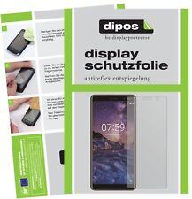 2x Nokia 7 Plus Protector de Pantalla protectores mate dipos