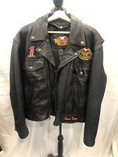 Harley Davidson Road King Leather Jacket