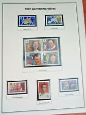 U.S. 1997 COMMEMORATIVES WITH HISTORY - NEW LOWER PRICE!!!