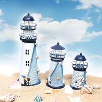 S M L Leuchtturmlampe Lampe RGB Beleuchtung Dekoration Haushalt Geschenk DE