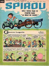 ▬► Spirou Hebdo - n°1433 du 30 Septembre 1965 - SANS mini-récit