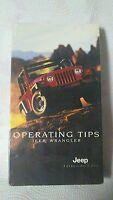 Jeep wrangler Operating  tips VHS