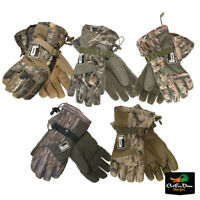 NEW BANDED GEAR WHITE RIVER INSULATED CAMO BLIND GLOVES DUCK HUNTING B1070002