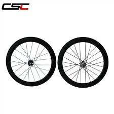 60mm tubular track carbon wheelset/ fixed gear carbon wheels