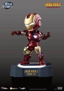 NEW EA-003 Egg Attack Iron Man 2 Mark VI Light Up Figure 18cm BK28215 US Seller
