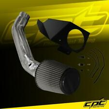For 14-16 BMW 335i GT F34 3.0L (AT) Polish Cold Air Intake + Black Filter Cover