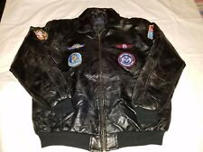 Knox Armory - Us Navy Top Gun - Leather Flight Jacket