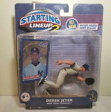Starting Lineup 2 Derek Jeter '01New York Yankees Collectible Sports Figure NIP!