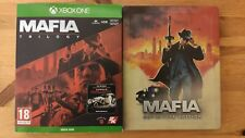 Mafia Trilogy Xbox One + Official Steelbook (Ultra Rare) + poster