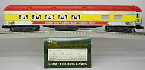 K-LINE O SCALE RINGLING BROTHERS AND BARNUM & BAILEY HEAVYWGHT PIE CAR K83-0095