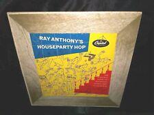 "Ray Anthony, Houseparty Hop 10"" VINYL (GOOD+) MONO 1952 JAZZ, COVER (VG+)"