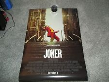 JOKER MOVIE POSTER DOUBLE SIDED (ORIGINAL)27X40 WITH CREDITS