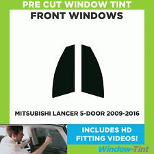Pre Cut Window Tint - Mitsubishi Lancer 5-door Hatch 2009-2016 - Front Windows