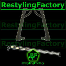 "Jeep JK Wrangler 50"" 300w 100x LED LIGHT BAR Combo Beam+Windshield Mount Bracket"