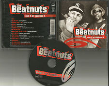 THE BEATNUTS Take it or Squeeze It w/ BONUS MIX CD JAPAN PRESS CD Usa Seller